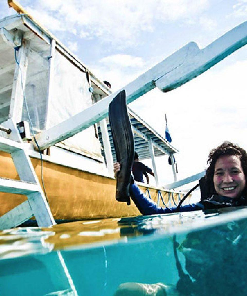 Diving with Big Bubble dive shop