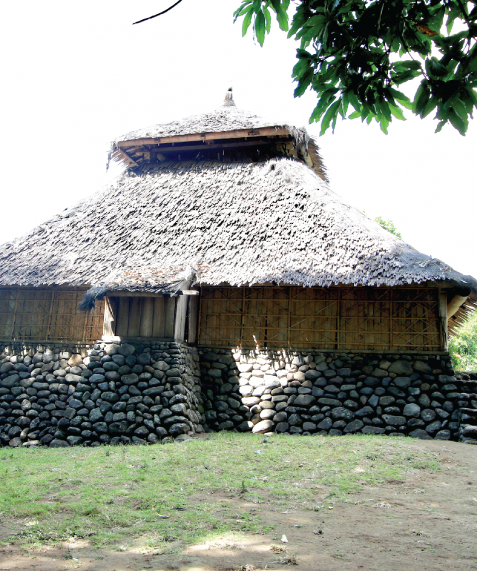 The oldest mosque in Lombok, Bayan village