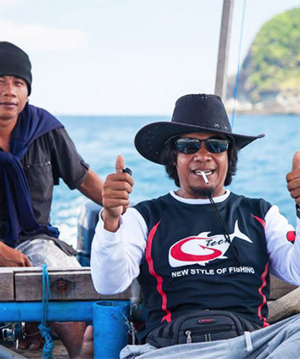 Pak Made, the local fisherman,  Lombok
