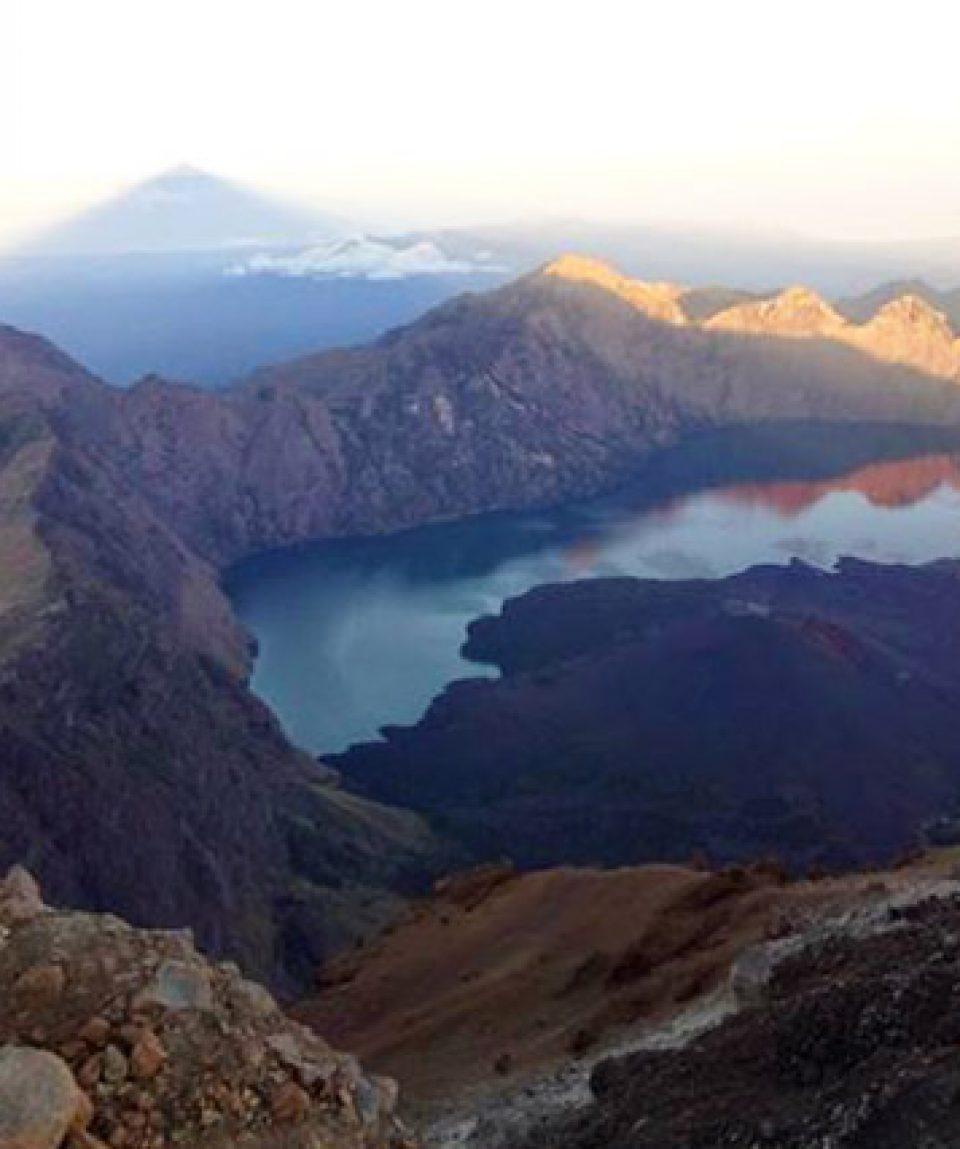 Rinjani lake, Lombok